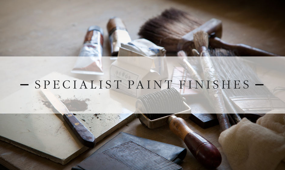 Specialist Paint Finishes